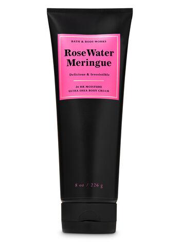 Rose Water Meringue Ultra Shea Body Cream - Bath And Body Works