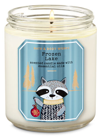 Frozen Lake Single Wick Candle - Bath And Body Works