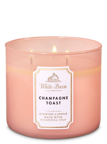 White Barn Champagne Toast 3-Wick Candle