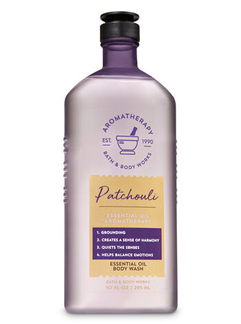 Aromatherapy Patchouli Essential Oil Body Wash - Bath And Body Works