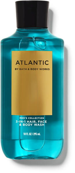 Atlantic 3-in-1 Hair, Face & Body Wash