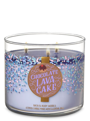 Chocolate Lava Cake 3-Wick Candle - Bath And Body Works
