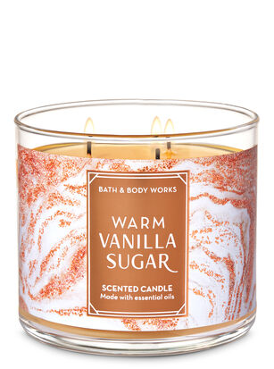 Warm Vanilla Sugar 3-Wick Candle