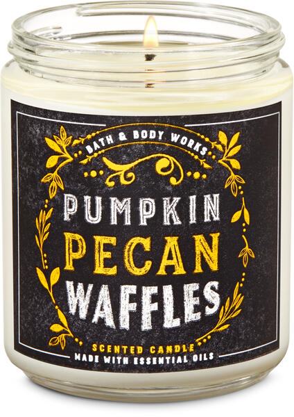 Pumpkin Pecan Waffles Single Wick Candle
