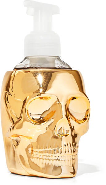 Golden Skull Gentle Foaming Soap Holder