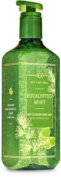 Eucalyptus Mint Deep Cleansing Hand Soap