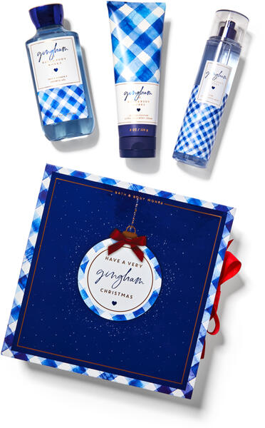 Gingham Gift Box Set