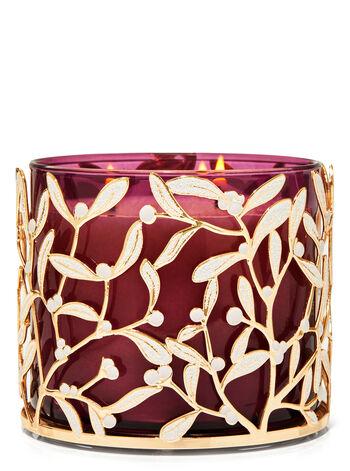 Mistletoe 3-Wick Candle Holder