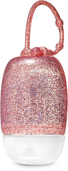 Rose Gold Glitter PocketBac Holders
