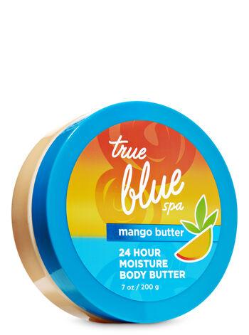True Blue Spa Mango Butter 24 Hour Moisture Body Butter - Bath And Body Works