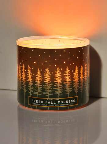 Fresh Fall Morning 3-Wick Candle