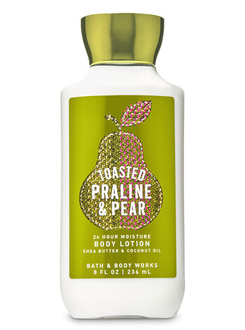 Toasted Praline & Pear Super Smooth Body Lotion - Bath And Body Works