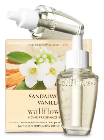 Sandalwood Vanilla Wallflowers Refills, 2-Pack - Bath And Body Works