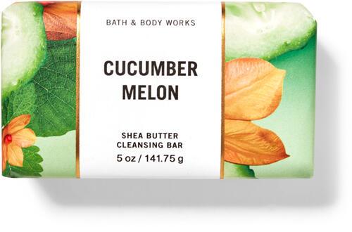 Cucumber Melon Shea Butter Cleansing Bar