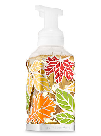Tossed Leaves Gentle Foaming Soap Holder - Bath And Body Works