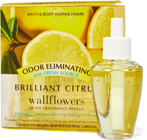 Brilliant Citrus Wallflowers Refills 2-Pack