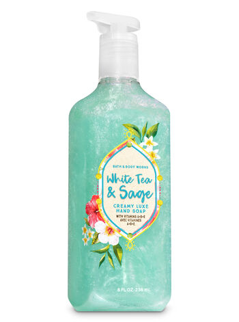 White Tea & Sage Creamy Luxe Hand Soap - Bath And Body Works