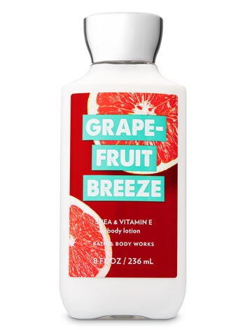 Signature Collection Grapefruit Breeze Body Lotion - Bath And Body Works