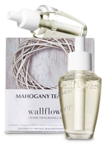 Mahogany Teakwood Wallflowers Refills, 2-Pack - Bath And Body Works