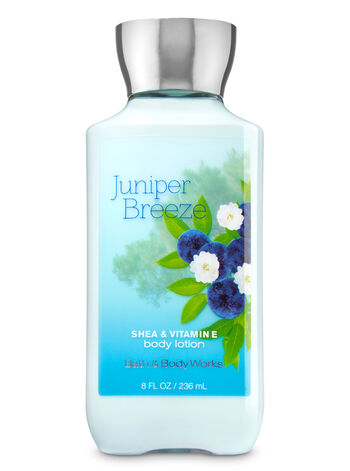 Signature Collection Juniper Breeze Body Lotion - Bath And Body Works