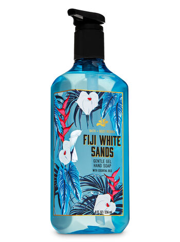 Fiji White Sands Gentle Gel Hand Soap - Bath And Body Works