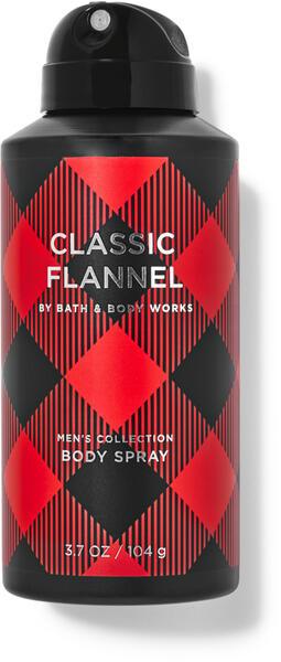 Classic Flannel Deodorizing Body Spray