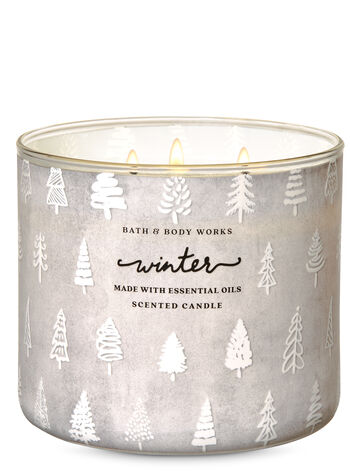 Winter 3-Wick Candle - Bath And Body Works