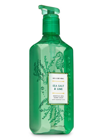 Sea Salt & Lime Gentle Gel Hand Soap - Bath And Body Works
