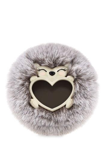 Fluffy Hedgehog Visor Clip Car Fragrance Holder
