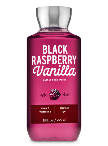 Signature Collection Black Raspberry Vanilla Shower Gel - Bath And Body Works