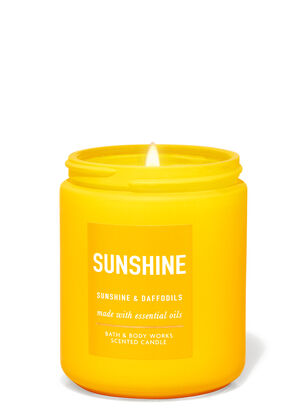 Sunshine & Daffodils Single Wick Candle