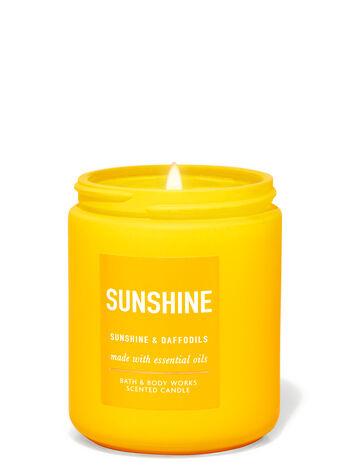 Sunshine & Daffodils Single Wick Candle