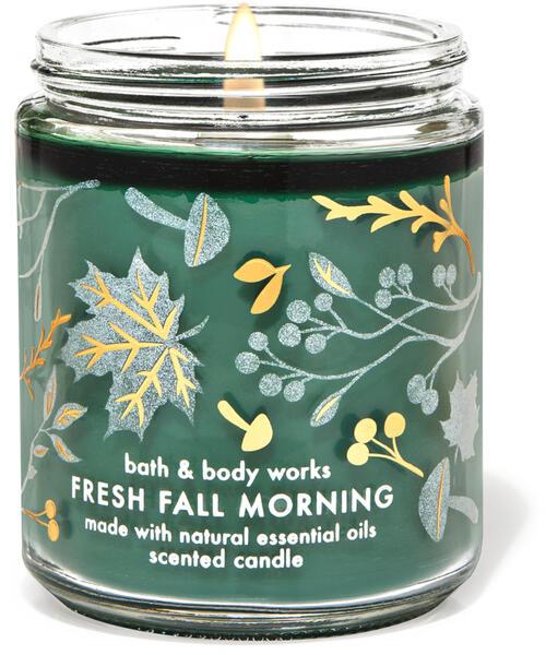 Fresh Fall Morning Single Wick Candle