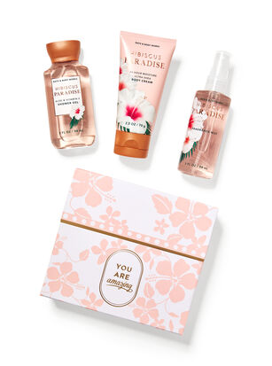 Hibiscus Paradise Mini Gift Box Set