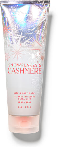 Snowflakes & Cashmere Ultra Shea Body Cream