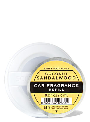 Coconut Sandalwood Car Fragrance Refill