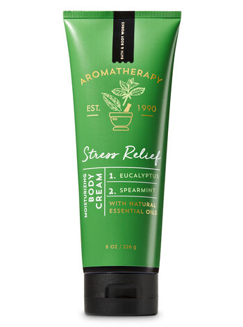 Aromatherapy Eucalyptus Spearmint Body Cream - Bath And Body Works