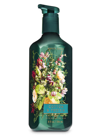 Cotton & Freesia Gel Hand Soap - Bath And Body Works
