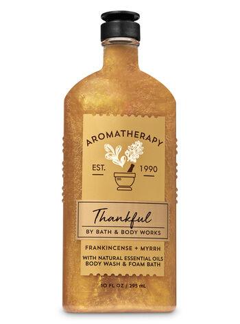 Aromatherapy Frankincense Myrrh Body Wash & Foam Bath - Bath And Body Works