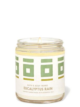 Eucalyptus Rain Single Wick Candle