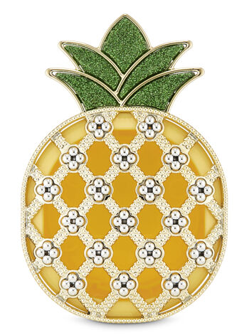 Shiny Pineapple Visor Clip Car Fragrance Holder