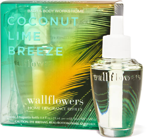 Coconut Lime Breeze Wallflowers Refills 2-Pack