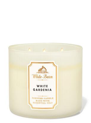 White Gardenia 3-Wick Candle