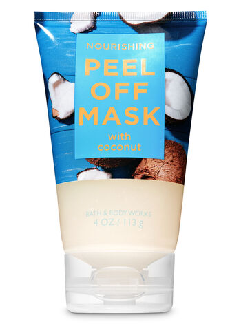 Nourishing with Coconut Peel Off Face Mask - Bath And Body Works
