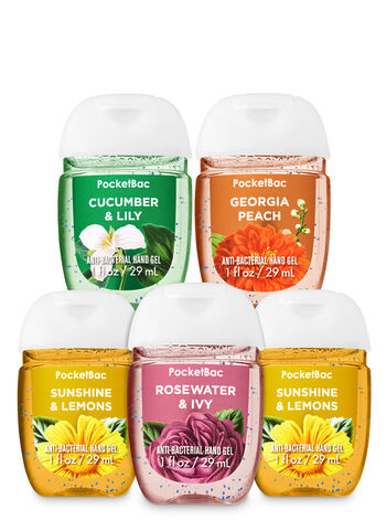 Spring Bouquet PocketBac Hand Sanitizers, 5-Pack - Bath And Body Works