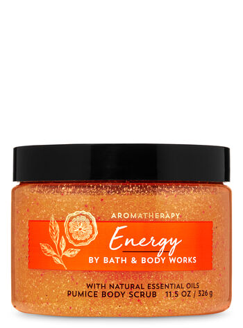 Aromatherapy Orange Ginger Pumice Body Scrub - Bath And Body Works