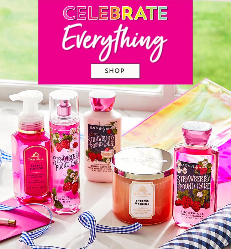 Celebrate Everything. Shop.