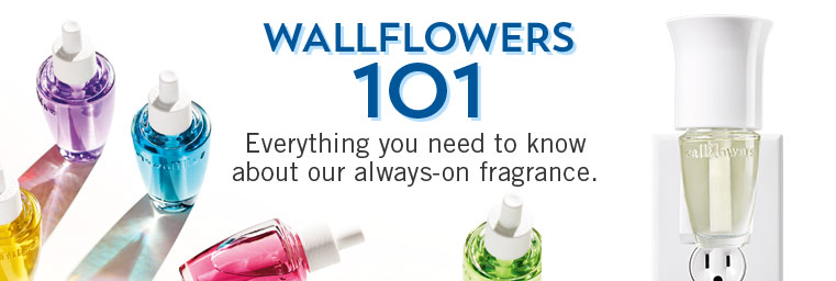 Wallflowers 101. Everything you need to know about our always on fragrance.