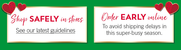 Shop safely in stores. See our latest guidelines. Order early online to avoid shipping delays in this super-busy season.