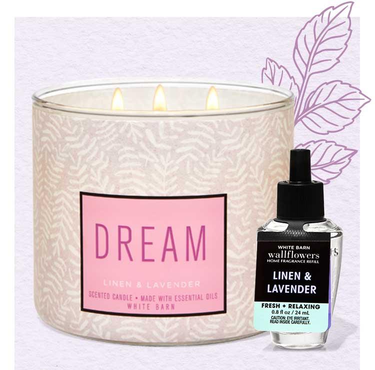 Linen & Lavender home fragrance collection